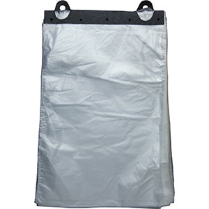 12 x 17 High Density Produce Bags on a Header
