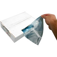 How the 2 Gallon Jumbo Freezer Storage Bag Colorzip Reclosable Food Service MiniGrip Dispenses