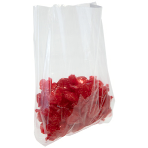3.5x2.25x9.75 1.5 mil Gusseted Polypropylene Bags