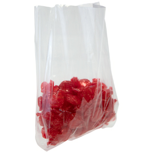 4 x 2 x 8 1.5 Mil Side Gusseted Polypropylene Bags