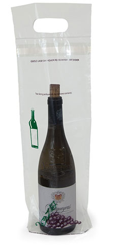 7x17+3 Design Wine Bottle Bags