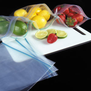 Double Zip Locking Bags Freezer Bags