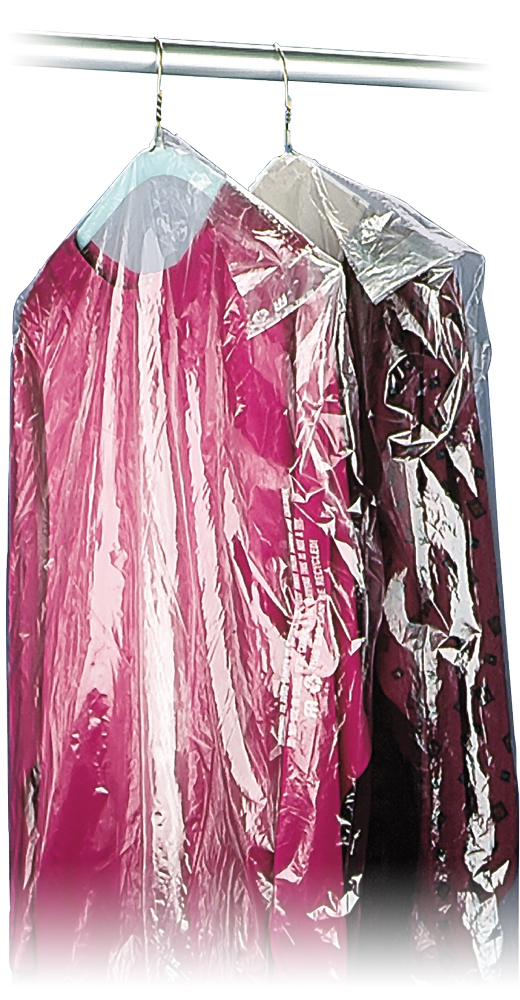 21 X 4 38 5 Mil Clear Plastic Garment Bags And Dry Cleaning