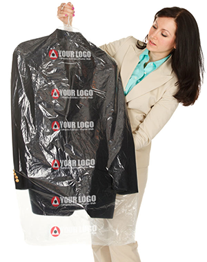 Custom Printed Plastic Dry Cleaning Bags