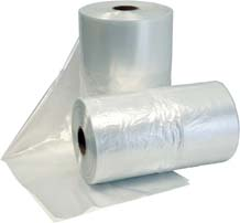 Gusset Plastic Bags on Rolls
