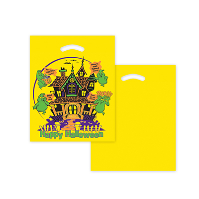 safety yellow halloween bag
