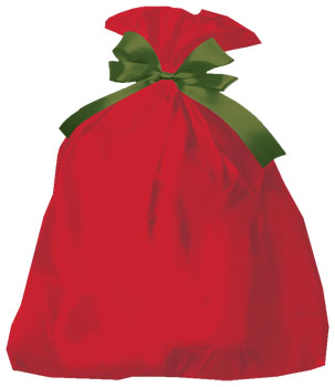 24 x 6 x 42 holiday jumbo  shopping bags big red