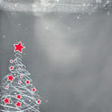 Winter images of Christmas Shoppping Bags