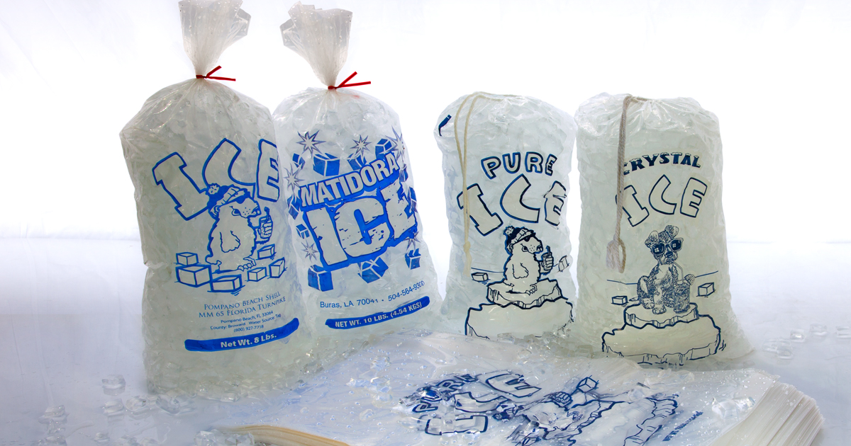Plastic Ice Bags Whole For Packaged