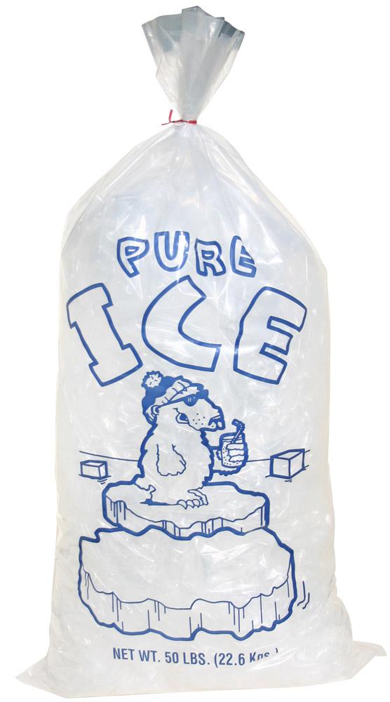 50 Lb Ice Bags