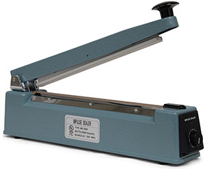 12 inch Impulse Hand Operated Manual Sealer