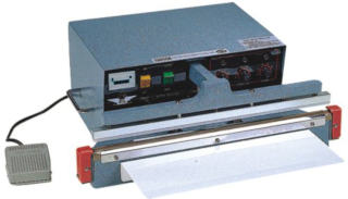 18x 10mm automatic impulse sealer