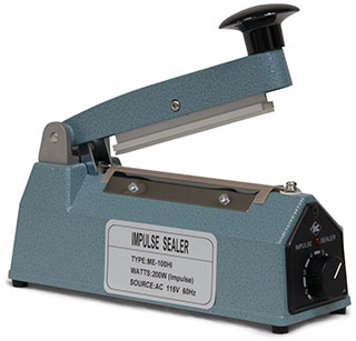 4 inch Impulse Hand Operated Manual Sealer