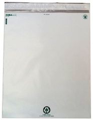 12x15.5 self-seal dura poly mailers