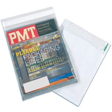 9 x 12 clear view poly mailers 500 case