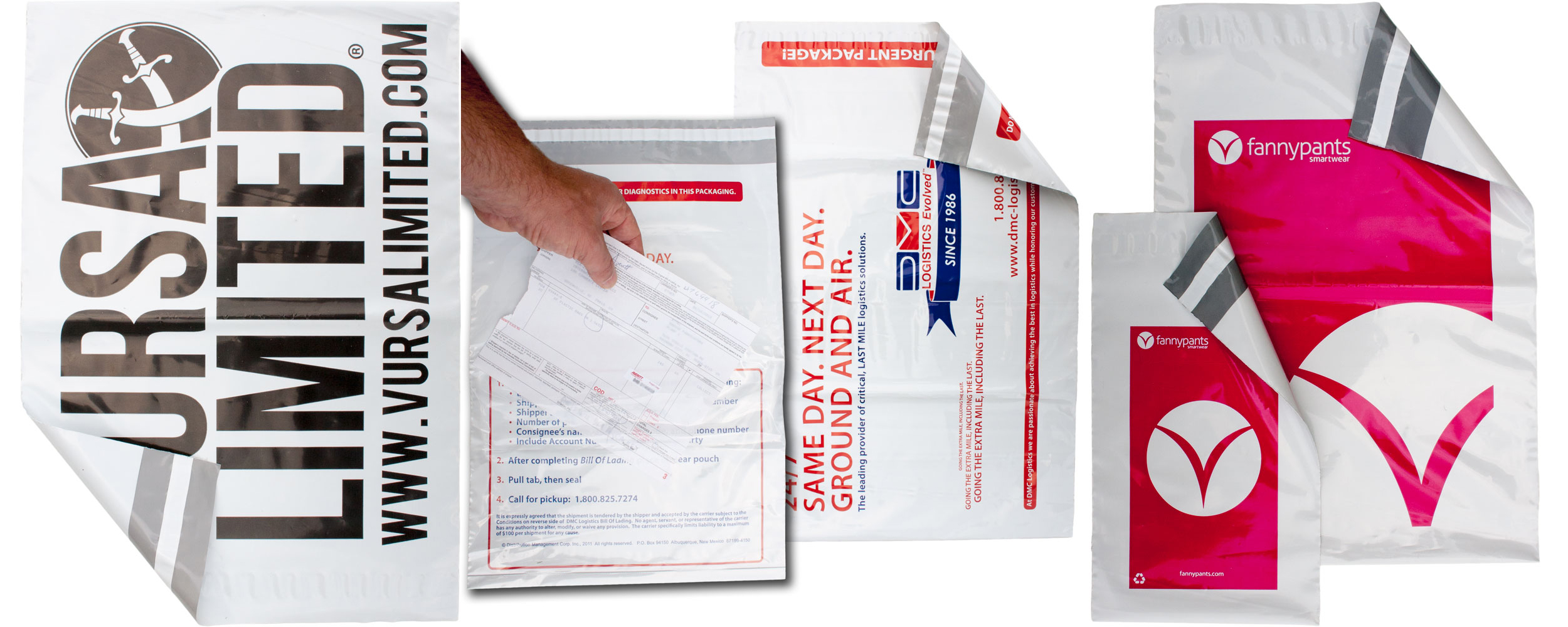 Custom Printed Poly Mailers