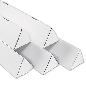 2x18.25 triangle mailing tubes