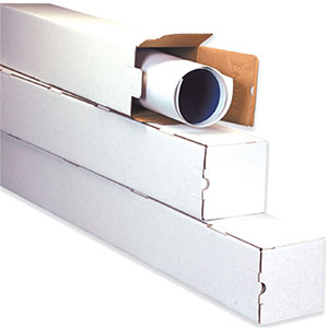 3x25 square mailing tubes