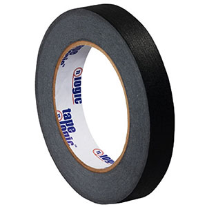 0.75x60 yds black masking tape