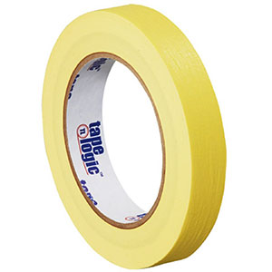 0.75x60 yds yellow masking tape