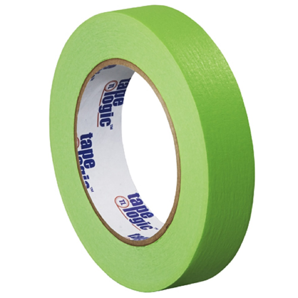 1 in x 60 yds light green colored masking tape. Black Bedroom Furniture Sets. Home Design Ideas