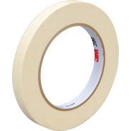 3M 231 Scotch Paint Masking Tape Natural .5 inch x 60 Yards