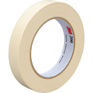 3M 231 Scotch Paint Masking Tape Natural .75 inch x 60 Yards