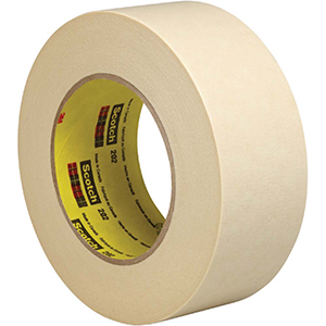 48 mmx55 m 6.3 mil scotch crepe masking tape