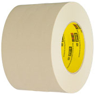 3M 231 Scotch Paint Masking Tape Natural 3 inch x 60 Yards