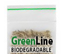 GreenLine Biodegradable Reclosable Zipper Bags