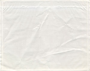 7 x 5-1/2 Clear Packing List Envelope Plain Face Top Loading