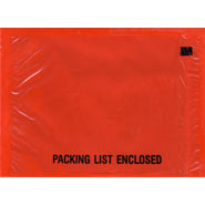 4-1/2x6 Packing List Envelope Full Face Packing List Bottom Printed Back Loading