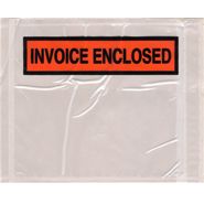 Panel Face Invoice Enclosed