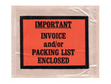 Packing List/Invoice Full Face