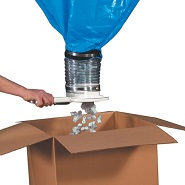 15 cubic feet loose fill dispenser