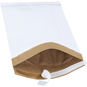 7.25x12 white padded mailers
