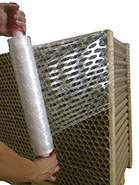 Vented Poly Pallet Wrap