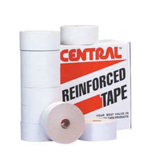 72mm x 500 yds white central 240 reinforced water activated tape