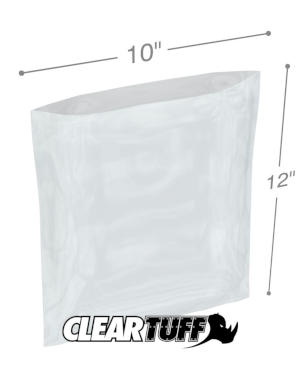 10 x 12 1.5 mil Poly Bags