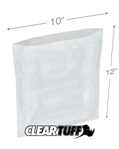 10 x 12 2 mil Poly Bags