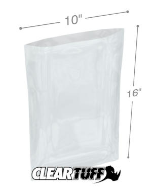 10 x 16 1 mil Poly Bags