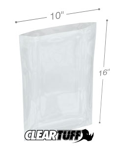 10 x 16 2 mil Poly Bags