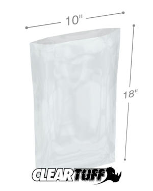 10 x 18 1 mil Poly Bags