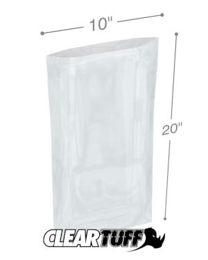 10 x 20 1 mil Poly Bags