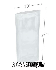 10 x 24 2 mil Poly Bags