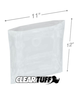 11 x 12 1 mil Poly Bags