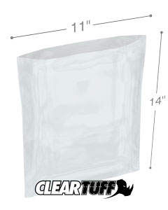 11 x 14 3 mil Poly Bags