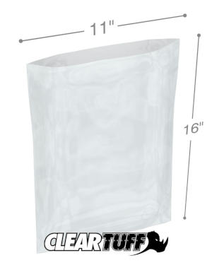 11 x 16 1 mil Poly Bags