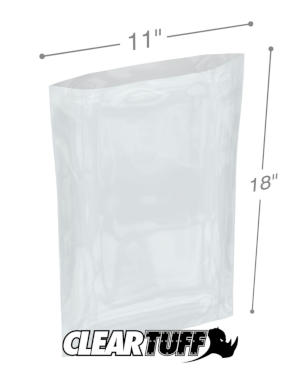 11 x 18 1 mil Poly Bags