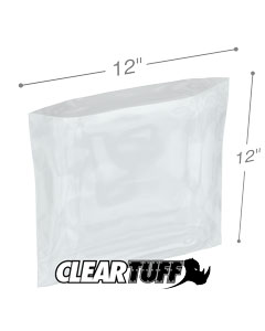 12 x 12 4 mil Poly Bags
